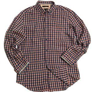Men's Banana Republic Linen Check Shirt